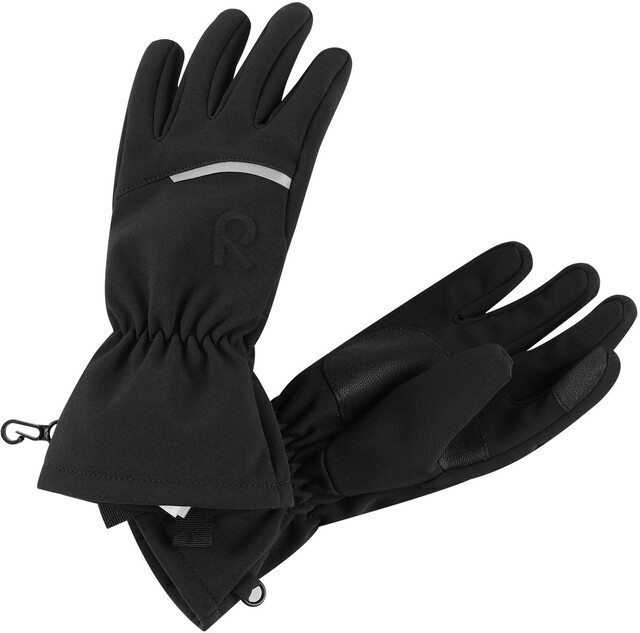 Reima Eidet Softshell Handschuhe Kinder black